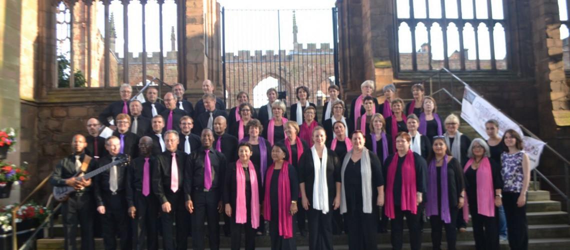 Tournée en Angleterre - Cathédrale de Coventry - Juillet 2013