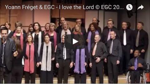 Yoann Fréget & EGC – I Love the Lord © EGC 2015