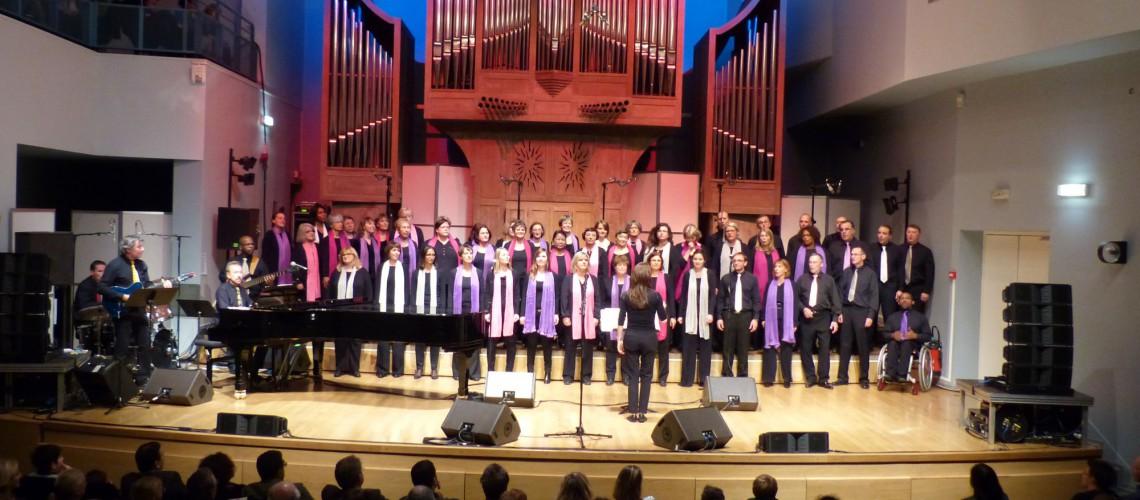 Concert dans le cadre de la semaine Jazz/Gospel de Rueil-Malmaison  le 03/11/2015 à l'Auditorium du CRR