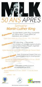 Concert à Niort l'occasion de la semaine Martin Luther King