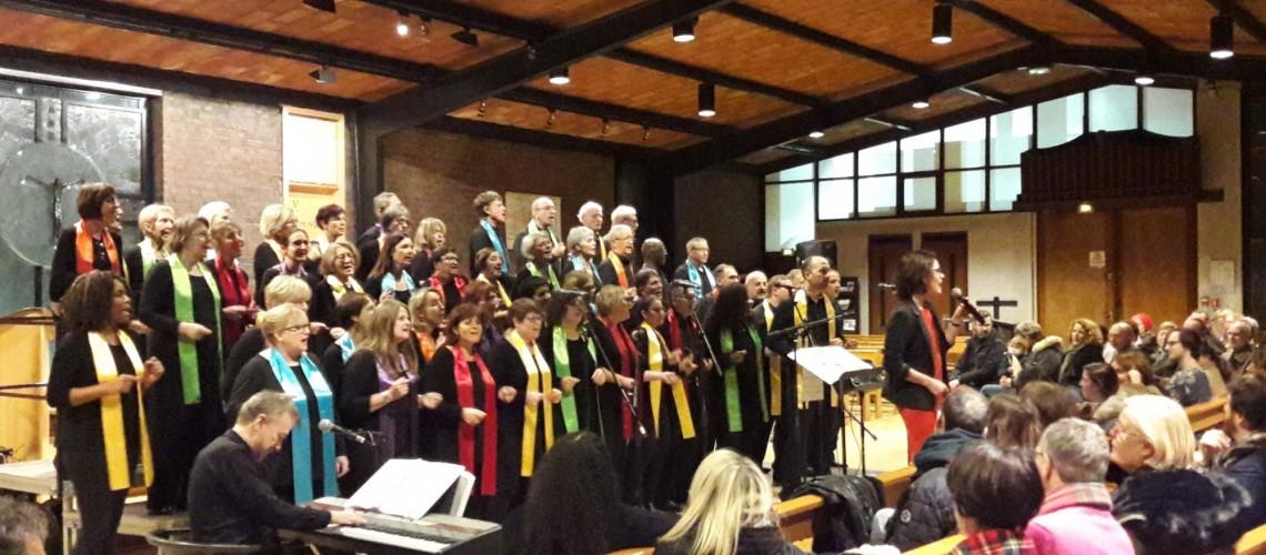 concert de Noël à l'église Sainte Thérèse à Rueil le 11 décembre 2018